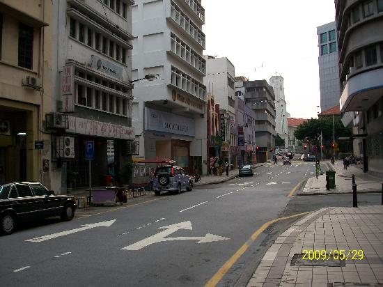 Serai Inn: 前の道路