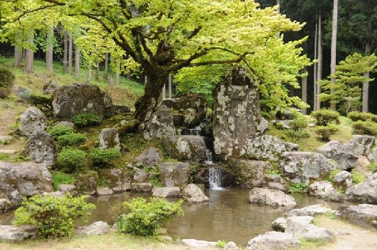 Fukui, Japón: 庭園遺構
