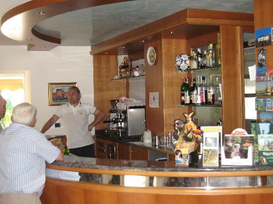 Hotel Villa Verde: Bar con titolare