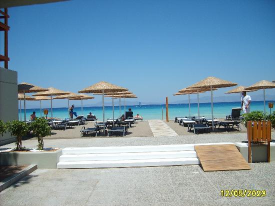 Sheraton Rhodes Resort: Plage