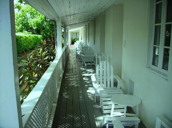 Island Inn Hotel: Gardenview Zimmer