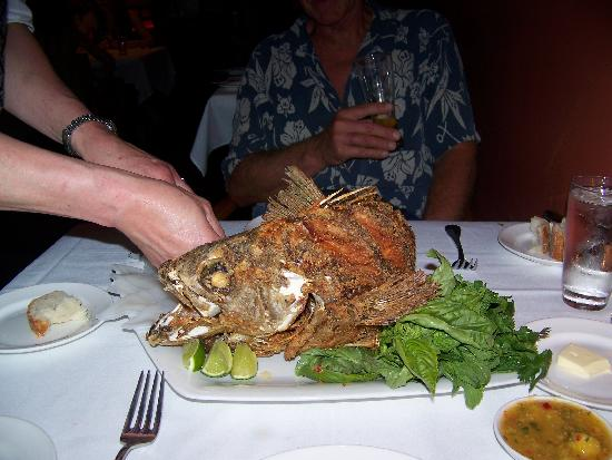 Fried flying fish picture of flying fish seattle for Flying fish happy hour