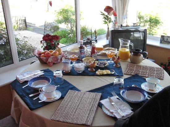 Bona Maris B+B: The breakfast room