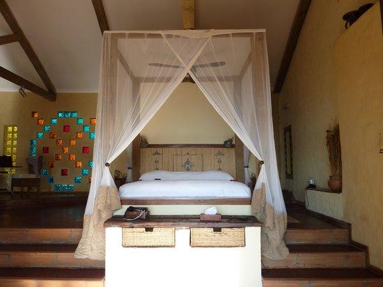 Tongabezi: Our amazing bed