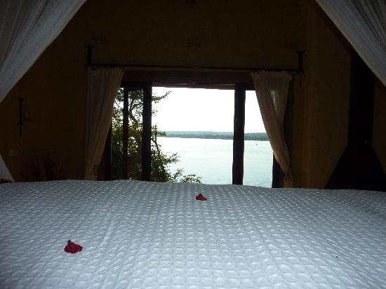Tongabezi: The view from our bed