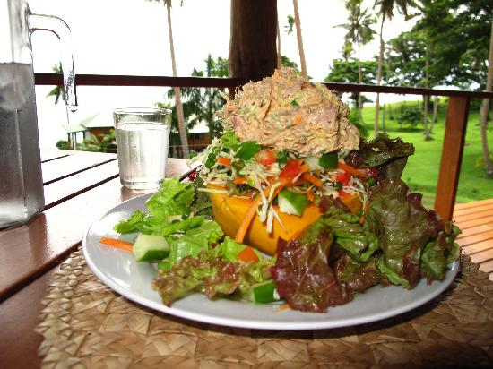 Nakia Resort & Dive: Delicious, healthy food