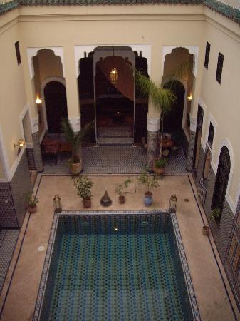 Riad Fes Baraka: vue de la terrasse