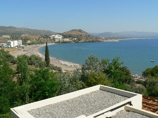 Lindos Mare Hotel: vista dal balcone