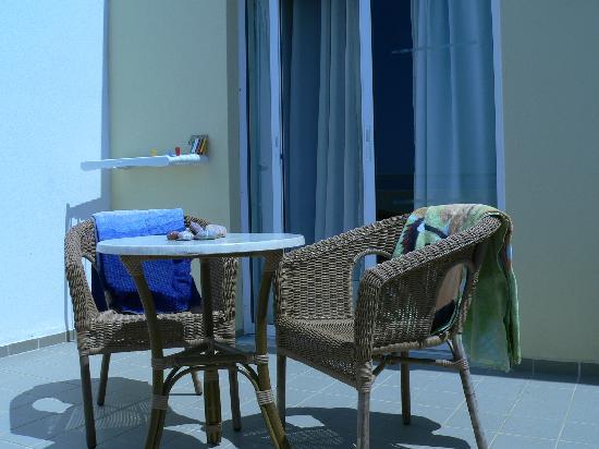 Lindos Mare Hotel: balcone
