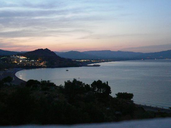 Lindos Mare Hotel: il tramonto
