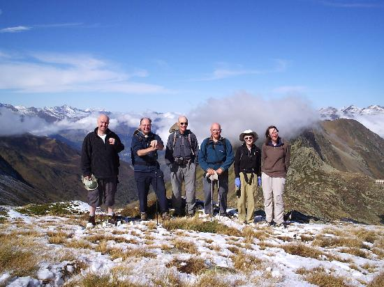 Les Cailloux - Mountainbug: High in the Pyrenees on my first visit.Oct 2008