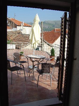 Vanjaka B&B: Private terrace