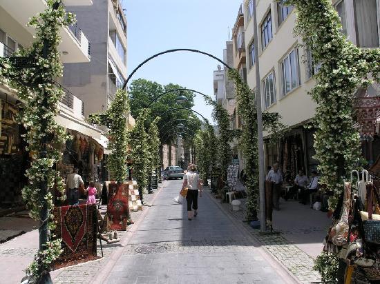 Urkmez Hotel: The street outside Hotel Urkmez