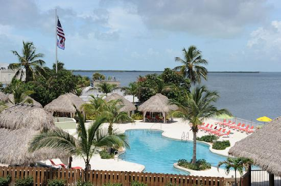 The Residence Club at Fisherman's Cove: View of pool from balcony