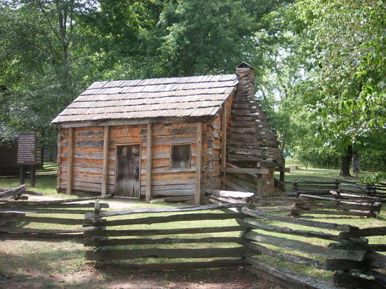 Surprising Abraham Lincoln Boyhood Home At Knob Creek Hodgenville Ky Top Hairstyles For Men Maxibearus