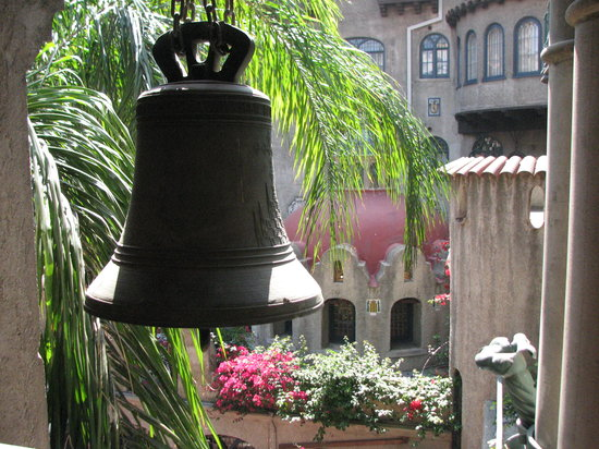 The Mission Inn Hotel and Spa: Mission bells everywhere