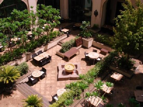 Manzil Downtown: The courtyard