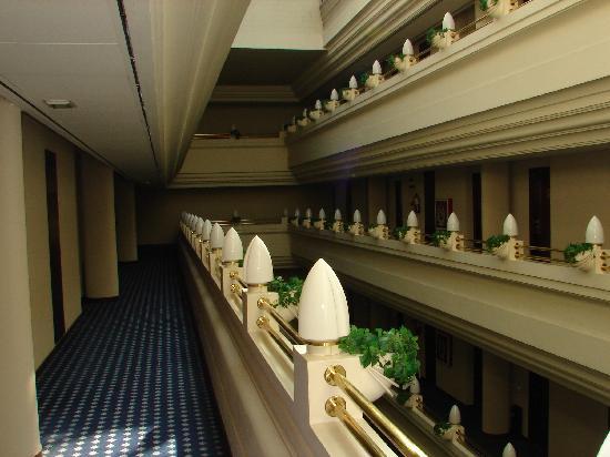 Silken Hotel Ciudad de Vitoria: Hallway