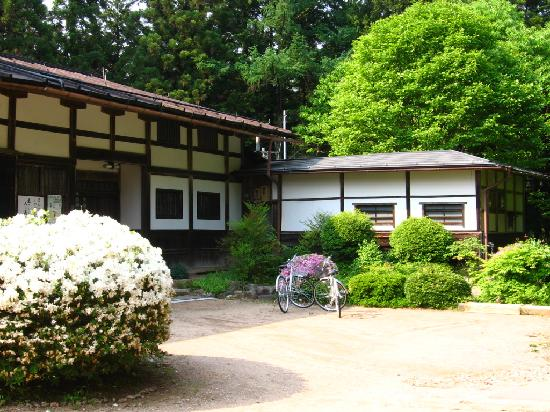 Hida Gasshoen: Bikes hired from ryokan - in centre of Takayama