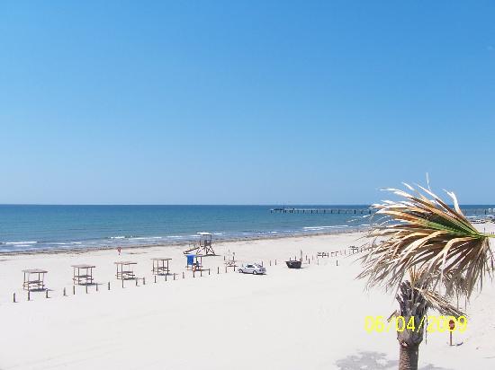 IB Magee Beach Park : Beach view