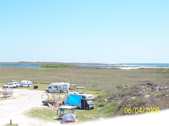 IB Magee Beach Park: Campgrounds