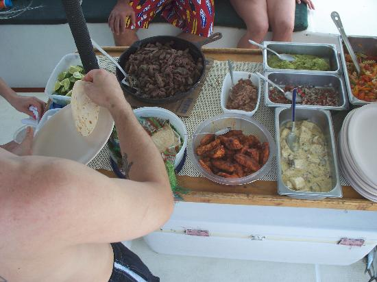 Cozumel Sailing: Awesome food-thanks Juan!