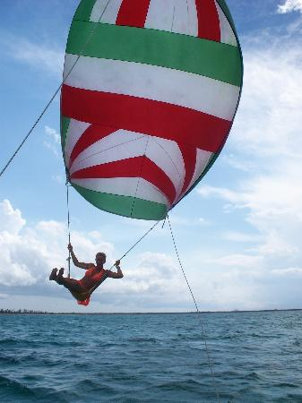 Cozumel Sailing: Spinnaker Rides-what a blast!