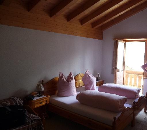 Pez Regina Hotel: Room at Pez Regina Lumbrein Switzerland