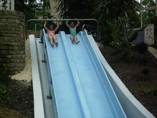 Saint-Pair-sur-Mer, Frankrike: water slides