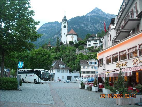 Hotel Hirschen-Cafe Seehof: a wonderful morning at hirschen