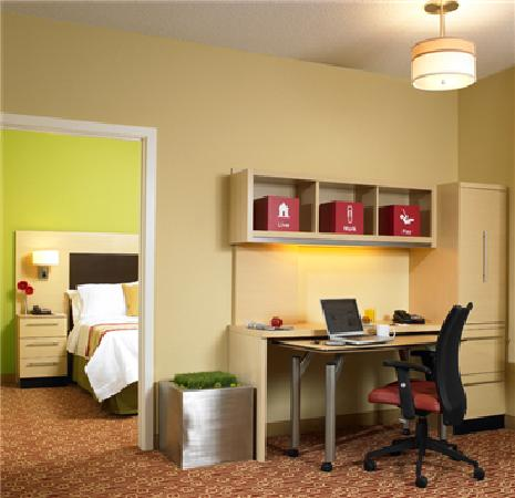 TownePlace Suites Columbia Southeast/Fort Jackson: Suite