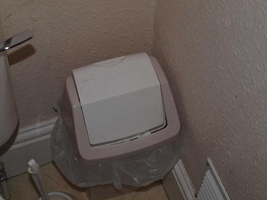 Stokesay Inn: dust in the bathroom