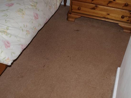 Stokesay Inn: dirty carpet