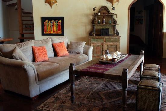 La Perla Del Caribe: Living room