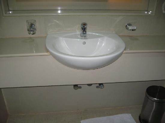 Hotel Vrishali Executive: The bathroom