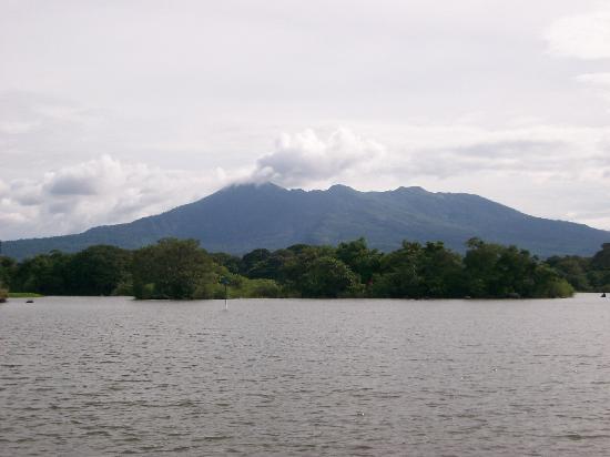 Mombacho Volcano : Mombacho from Lake Nicaragua