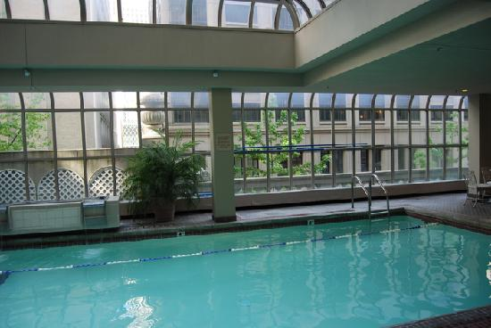 Beautiful Indoor Pool At The Hotel Picture Of The Fairmont Olympic Seattle Seattle Tripadvisor