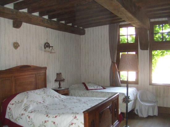 Foucheres, France : our room #1