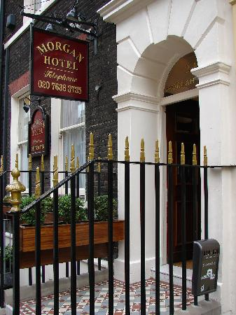 Entrance way to the Morgan Hotel