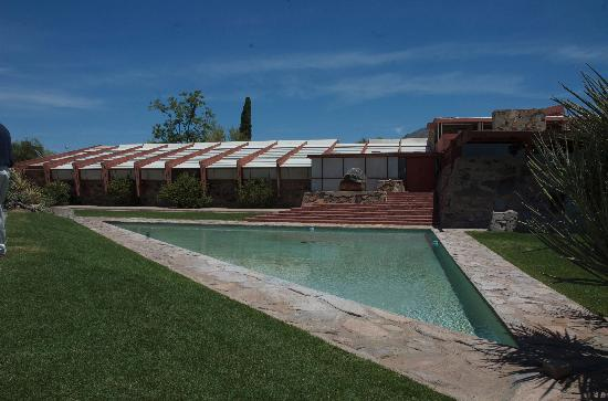 Taliesin West: front pool