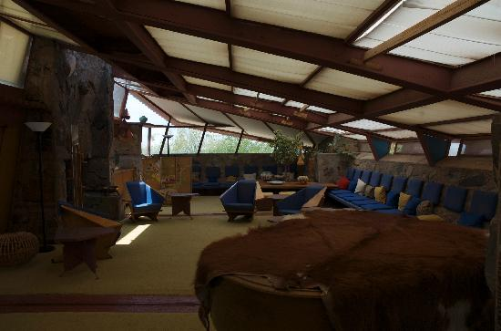 Taliesin West: great room