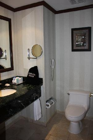Hilton Princess San Pedro Sula: Bathroom