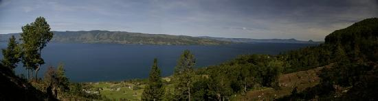 Lake Toba panoramic view