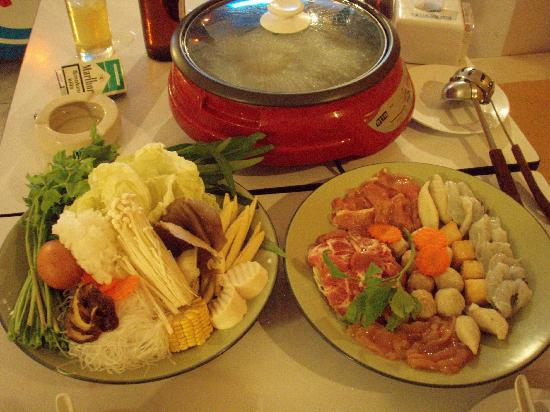 Hot Pot Set Picture Of Hot Pot Khao Lak Tripadvisor