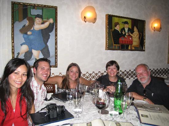 Our last evening in Rome at Le Fric