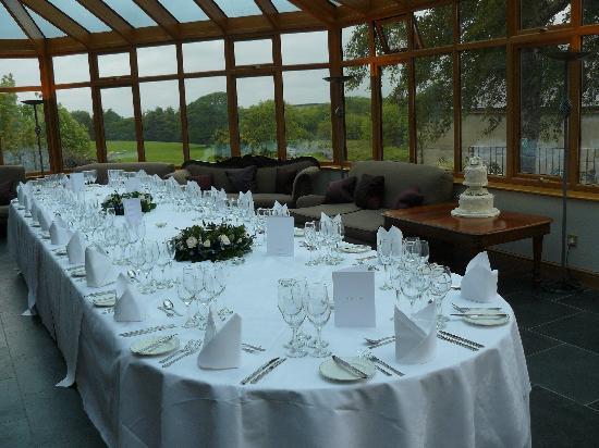 Seiont Manor Hotel: conservatory