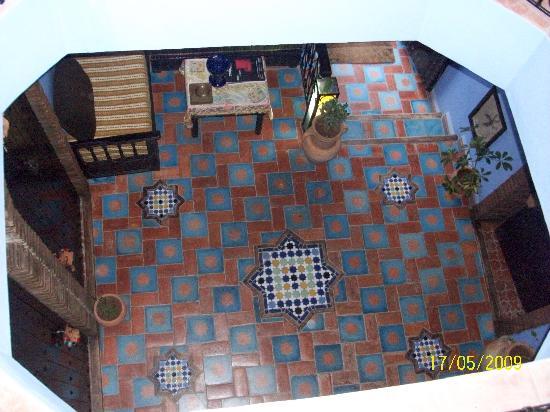 Dar Zman: vue du 1er etage
