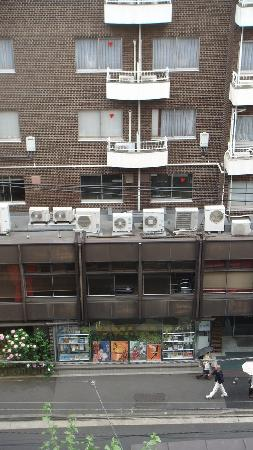 Ueno First City Hotel: View from room 608