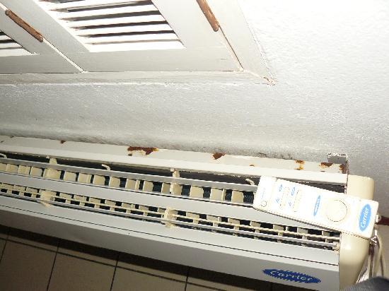 Hotel Casitas Eclipse: El aire acondicionado