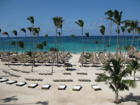 Iberostar Grand Hotel Bavaro: view from gym